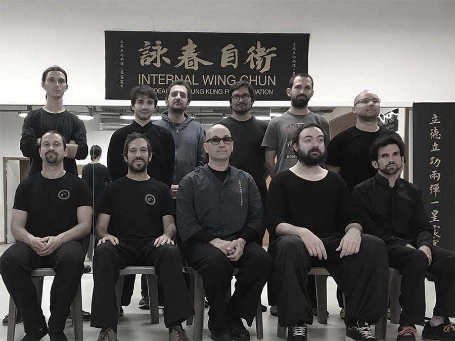TEAM 5 Armand Florea Wing Chun Bordeaux
