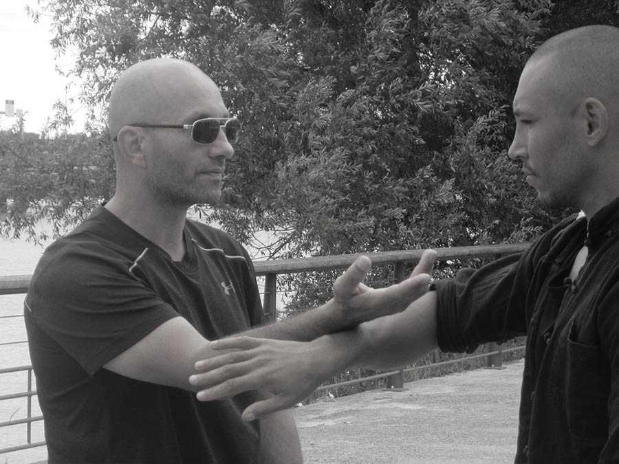 OK Tan Sao Armand Florea Wing Chun Bordeaux