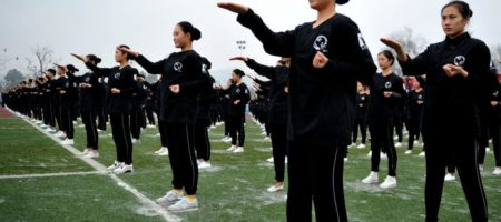 10 021 étudiants pour le plus grand rassemblement de Wing Chun